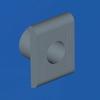 Комплект замка для пультов и шкафов CE, двойная бородка 3мм DKC/ДКС