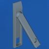 Комплект замка, для DAE/CQE, поворотная ручка, двойная бородка 3мм DKC/ДКС