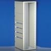 Панели накладные, В=100мм для шкафов DAE/CQE Ш=600мм, 1 упаковка - 2шт. DKC/ДКС