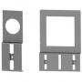 DKC / ДКС R5DPC96 Комплект держателей перфокороба, крепежное отвертстие 96x96мм, 1 упаковка - 10 шт.