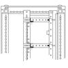 Объединительные панели для секций шкафов DAE/CQE, 600мм, 1 упаковка - 5шт. DKC/ДКС