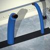 Уплотнитель для ввода кабеля, для шкафов DAE/CQE шириной 1000 мм DKC/ДКС
