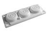 Кабельный ввод, пластик V0 UL94, IP65,  +130 - 40, 6 отверстий DKC/ДКС