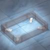 Комплект пластин для фиксации цоколя к полу, 1 упаковка - 4шт. DKC/ДКС