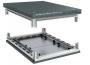 Комплект, крыша перфорованная и основание, для шкафов, 800 x 1000 мм RAM Telecom DKC/ДКС