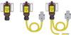 Концевой выключатель(дверной),однофазный,с основным и дополнительным 2 м.)кабелем и силовым разъёмом DKC/ДКС
