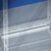 Рейки для фиксации кабеля, для шкафов DAE/CQE Ш=400мм, 1 упаковка - 2шт. DKC/ДКС