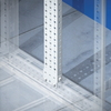 Рейки вертикальные, широкая, для шкафов CQE В=1800мм, 1 упаковка - 2шт. DKC/ДКС
