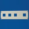 Секционная панель, для модулей, 48 (2x24) модулей, В=400мм,Ш=600мм DKC/ДКС