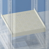Полка фиксированная, Г = 500 мм, для шкафов DAE/CQE шириной 800 мм DKC/ДКС