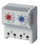 Сдвоенный термостат, диапазон температур для NC контакта: 10-50°C; для DKC/ДКС