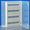 Панель для модулей, 63 (3 x 21) модуля, для шкафов CE, 500 x 500мм DKC/ДКС