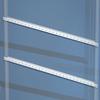 Рейки горизонтальные, дверная, для шкафов CQE Ш=500мм, 1 упаковка - 10 шт. DKC/ДКС