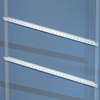 Рейки горизонтальные, дверная, для шкафов CQE Ш=600мм, 1 упаковка - 10 шт. DKC/ДКС