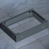 Цоколь для сборных пультов и пультов управления, 1600 x 380x 100 мм DKC/ДКС