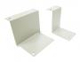 Комплект кронштейнов против опрокидывания для шкафов МТК шириной 600 мм, 4 шт., черный RAL9005 AESP