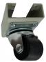 Ролики (нагрузка до 1080кг на комплект) для напольных шкафов МТК и P4, 4шт., чёрные AESP