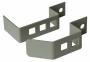 Органайзер для крепления блоков розеток в рамах шкафов МТК (комплект 2шт.), серый AESP