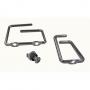 Кольцо метал. для разводки кабеля, 43х70 мм, хромированное AESP