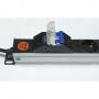Блок розеток вертикальный, 16 Евро + 12 C13, 16A, с автоматом, шнур 3 м AESP