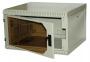 Шкаф настенный SignaPro™ 6U 371х600х660 мм, двухсекционный со съемными боковыми стенками, черный AESP
