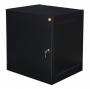Шкаф настенный Alpha 15U, 706x600x450 мм, черный AESP