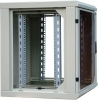 Шкаф телекоммуникационный настенный серии SignaPro™ 18U, 904х600х550мм, двухсекционный со съемными боковыми стенками