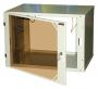 Шкаф телекоммуникационный настенный серии Alpha 18U, 904x600x450 мм, разборный