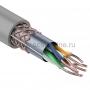 Витая пара SFTP, 4 пары, 24 AWG, Cat.5e, двойной экран (фольга + оплетка), Solid (305m) Rexant