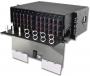 Шкаф оптический выдвижной 4U, на 72-288 соединений (12 адаптерных пластин Quick-Pack), черный Siemon
