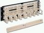 """19"""" 200-парная панель, тип 110, с 4-парными модулями и кабельным органайзером, 3U Siemon"""