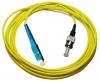 Шнур оптический SC/UPC-ST/UPC, SM, simplex, 1m