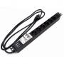 """Блок розеток для 19"""" шкафов, горизонтальный, с автоматическим выключателем 2Р(16А), 6 розеток Schuko (16A), 250В, кабель питания 3х1.5мм2, длина 2.5 м, 482.6 мм x 44.4 мм x 44.4 мм (ДхШхВ) Hyperline"""