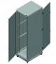 """Напольный шкаф 19"""", 42U, промышленный, цельнометаллические двери, степень защиты IP55, Ш600хВ2070хГ800мм, серый TLK"""