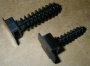 Дюбель для кабельной стяжки, 8мм-10мм, цвет черный (100 шт) Hyperline