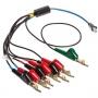Комплект тестовых шнуров для ответного устройства TN2000 и TN2100. Разъем - крокодил с игольчатой площадкой