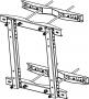 Кронштейн для крепления шкафа TWK 12U на столб до 170х340мм, серый TLK