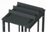Панель разделительная для шкафа V800, высота 107 мм, цвет черный (2 шт.) Siemon
