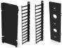 Вертикальный канал коммутации (в комплекте тыльная стенка, органайзеры-гребенки и крышка), в шкафы Versapod 45U, черный (2 шт. для заполнения вертикального пространства) Siemon