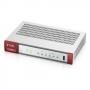Межсетевой экран Zyxel VPN50, 2xWAN GE (RJ-45 и SFP), 4xLAN/DMZ GE, USB3.0, AP Controller (4/36)