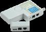 ITK Тестер для витой пары 4в1 RJ45/RJ11/BNC/USB с элем. пит.