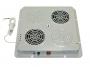 Модуль вентиляторный, потолочный, 380 x 380 мм, 2 вент, номинальная мощность 44 Вт, пластиковый, цвет серый (RAL 7035) (PWD-2W) ZPAS