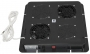 Модуль вентиляторный, потолочный, 380 x 380 мм, 2 вент, номинальная мощность 44 Вт, пластиковый, с термостатом, цвет черный (RAL 9005) (PWD-2W с термостатом) ZPAS