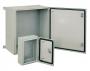 (WZ-2285-01-08-091/501) Шкаф электрический, серия SWN, 400х400х300 (ВхШхГ), c монтажной панелью, с покрытием полицинк для уличного размещения, IP65, цвет серый (RAL 7035) ZPAS