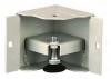 Уголок для цоколя, высотой 100 mm, шириной 100мм, глубиной 100мм, c ножками, цвет серый (RAL 7035) (2401-2-2) ZPAS