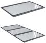 Крыша для системы ЦОД DataBox, ширина 1100мм, для коридоров 1200мм, цвет черный (RAL 9005) ZPAS