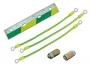 Комплект заземления для шкафов Z-BOX (шина заземления, кабеля заземления двери и боковых стенок, элементы крепежа) ZPAS