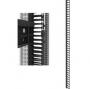 """Вертикальная кабельная гребенка 19"""" для шкафов Z-SERVER шириной 600 мм и 800 мм, 42U ZPAS"""