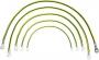 Комплект кабелей заземления, 7 шт. (SZB-12-00-00/1) (кабель заземления 300 мм - 4 шт, кабель заземления 400 мм - 2 шт, кабель заземления 600 мм - 1 шт. , фиксирующие аксессуары) ZPAS