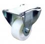 Ролик для шкафов , макс. нагрузка системы 600 кг, d=80мм, без тормоза, крепление через суппорт (2шт. в комплекте) ZPAS